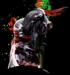 Hisako é a fantasma de uma filha de um Ronin, que voltou dos mortos para se vingar de seus algozes.